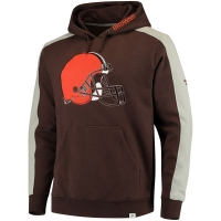Cleveland Browns nfl fanatics pro line pullover hoodie толстовка с капюшоном