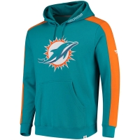Miami Dolphins nfl pro line pullover hoodie толстовка с капюшоном
