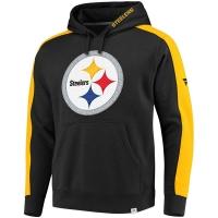 Pittsburgh Steelers nfl fanatics pro line pullover hoodie толстовка с капюшоном