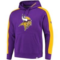 Minnesota Vikings nfl fanatics pro line pullover hoodie толстовка с капюшоном