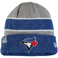 Toronto Blue Jays mlb new era heathered зимняя спортивная шапка