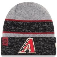 Arizona Diamondbacks mlb new era heathered зимняя спортивная шапка