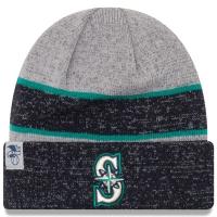 Seattle Mariners mlb new era heathered зимняя спортивная шапка