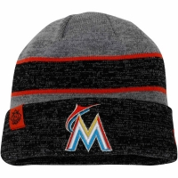 Miami Marlins mlb new era heathered зимняя спортивная шапка
