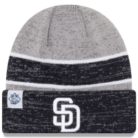 San Diego Padres mlb new era heathered зимняя спортивная шапка