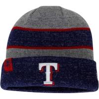 Texas Rangers mlb new era heathered зимняя спортивная шапка