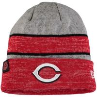 Cincinnati Reds mlb new era heathered зимняя спортивная шапка