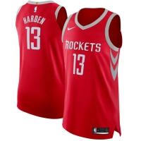 James Harden Houston Rockets nba nike authentic джерси баскетбольная майка красная