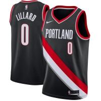 Damian Lillard Portland Trail Blazers nba nike джерси баскетбольная майка черная