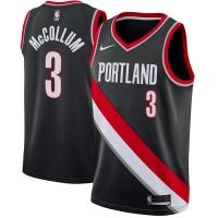 C.J. McCollum Portland Trail Blazers nba nike джерси баскетбольная майка черная