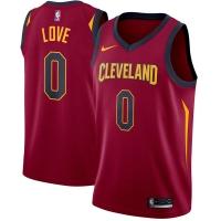 Kevin Love Cleveland Cavaliers nba nike джерси баскетбольная майка бордовая