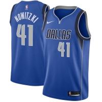 Dirk Nowitzki Dallas Mavericks nba nike джерси баскетбольная майка синяя