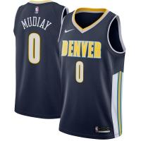 Emmanuel Mudiay Denver Nuggets nba nike джерси баскетбольная майка темно-синяя