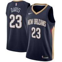 Anthony Davis New Orleans Pelicans nba nike джерси баскетбольная майка темно-синяя