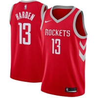 James Harden Houston Rockets nba nike джерси баскетбольная майка красная