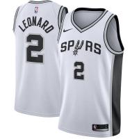 Kawhi Leonard San Antonio Spurs nba nike джерси баскетбольная майка белая