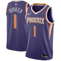 Devin Booker Phoenix Suns nba nike джерси баскетбольная майка фиолетовая