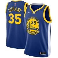 Kevin Durant Golden State Warriors nba nike джерси баскетбольная майка синяя