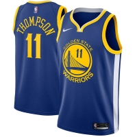 Klay Thompson Golden State Warriors nba nike джерси баскетбольная майка синяя