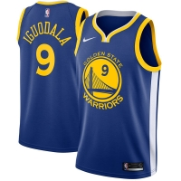Andrew Iguodala Golden State Warriors nba nike джерси баскетбольная майка синяя