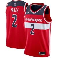 John Wall Washington Wizards nba nike джерси баскетбольная майка красная