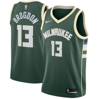 Malcolm Brogdon Milwaukee Bucks nba nike джерси баскетбольная майка зеленая