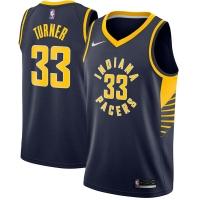 Myles Turner Indiana Pacers nba nike джерси баскетбольная майка темно-синяя