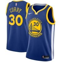 Stephen Curry Golden State Warriors nba nike джерси баскетбольная майка синяя