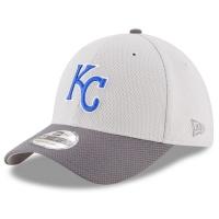 Kansas City Royals mlb new era flex vize спортивная бейсболка серая