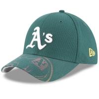 Oakland Athletics mlb new era flex logo спортивная бейсболка зеленая