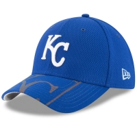 Kansas City Royals mlb new era flex flow спортивная бейсболка синяя
