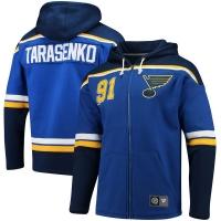 Vladimir Tarasenko St Louis Blues nhl full-zip hoodie хоккейная толстовка с капюшоном