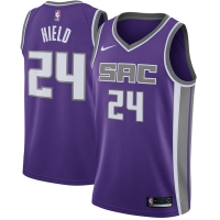 Buddy Hield Sacramento Kings nba nike джерси баскетбольная майка фиолетовая