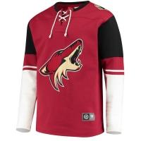 Arizona Coyotes nhl fanatics хоккейная спортивная кофта бордовая