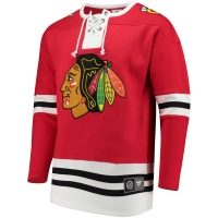 Chicago Blackhawks nhl fanatics хоккейная спортивная кофта красная