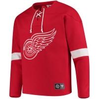 Detroit Red Wings nhl fanatics хоккейная спортивная кофта красная