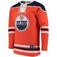 Edmonton Oilers nhl хоккейная спортивная кофта оранжевая
