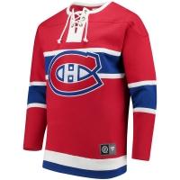 Montreal Canadiens nhl fanatics хоккейная спортивная кофта красная