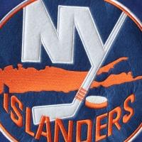 New York Islanders nhl fanatics хоккейная спортивная кофта синяя