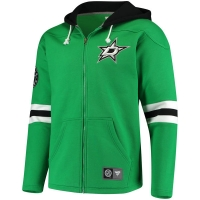 Dallas Stars nhl fanatics full-zip hoodie хоккейная толстовка с капюшоном