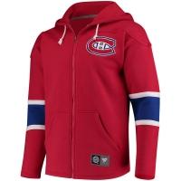 Montreal Canadiens nhl fanatics full-zip hoodie хоккейная толстовка с капюшоном