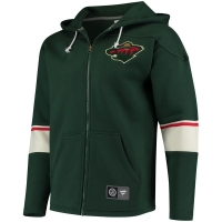 Minnesota Wild nhl fanatics full-zip hoodie хоккейная толстовка с капюшоном