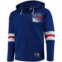 New York Rangers nhl full-zip hoodie хоккейная толстовка с капюшоном