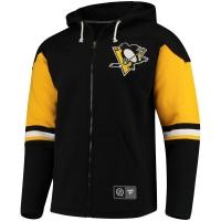 Pittsburgh Penguins nhl fanatics full-zip hoodie хоккейная толстовка с капюшоном