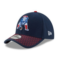 New England Patriots nfl new era flex historic спортивная бейсболка темно-синяя