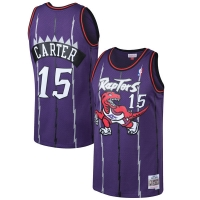 Vince Carter Toronto Raptors nba mitchell & ness 1998-99 hardwood classics джерси баскетбольная майка фиолетовая