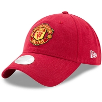 Manchester United FC new era women's футбольная бейсболка красная