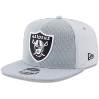 Oakland Raiders nfl new era snapback color rush спортивная кепка silver