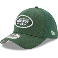 New York Jets nfl new era flex shadowed спортивная бейсболка зеленая