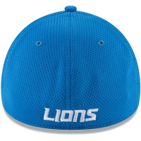 Detroit Lions nfl new era flex shadowed спортивная бейсболка голубая